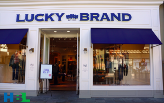 Lucky Brand bankruptcy blog